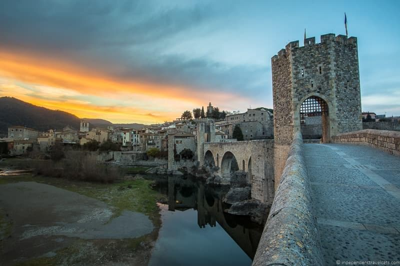 Besalú things to do in the Spanish Pyrenees in Catalonia Spain