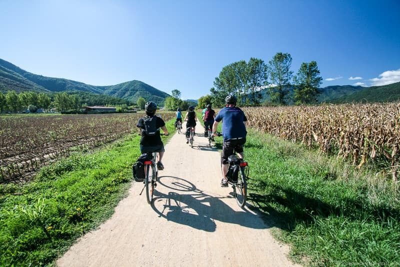 biking things to do in the Spanish Pyrenees in Catalonia Spain