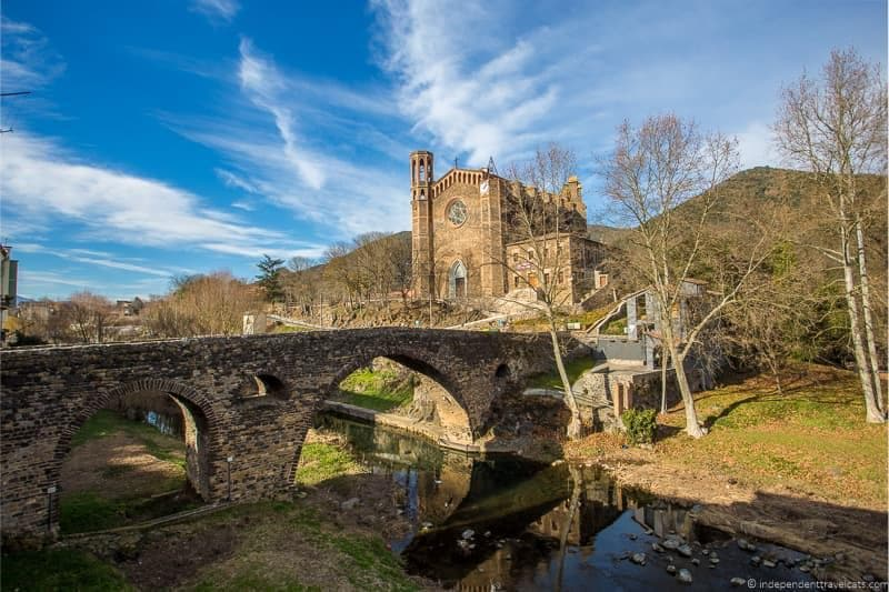 Sant Joan Les Fonts things to do in the Spanish Pyrenees in Catalonia Spain