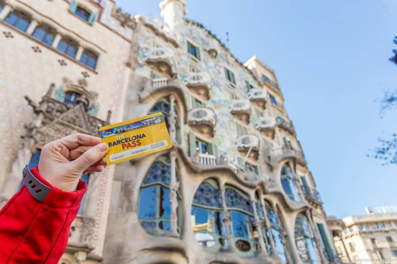 Barcelona Pass guide to Gaudí sites in Barcelona Spain