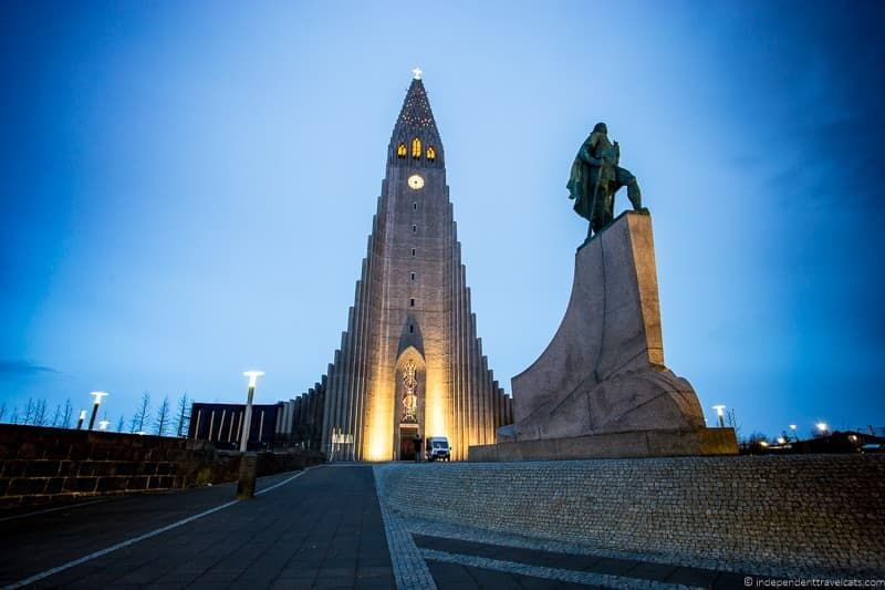 Hallgrimskirkja 7 day Iceland itinerary by car one week road trip