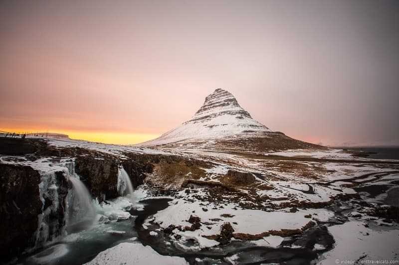 Kirkjufell 7 day Iceland itinerary by car one week road trip