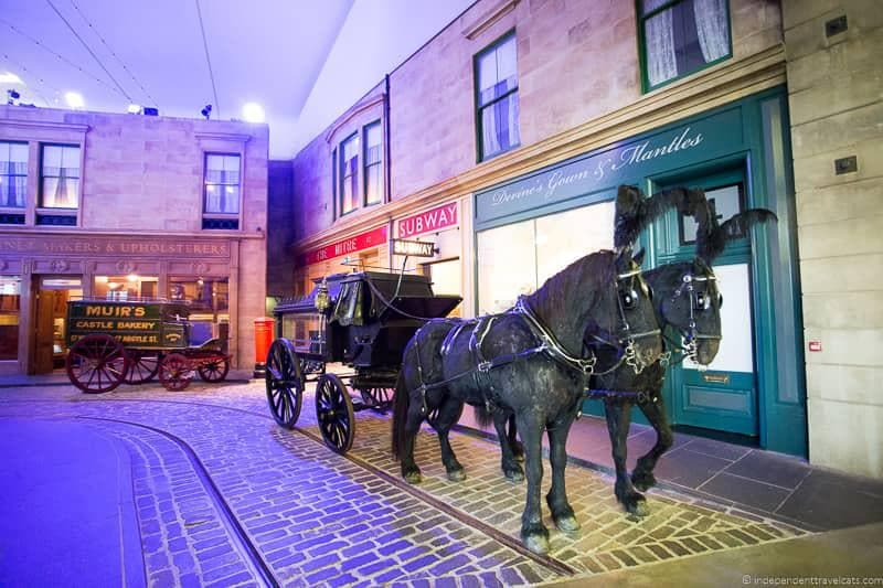 Riverside Museum top things to do in Glasgow Scotland attractions
