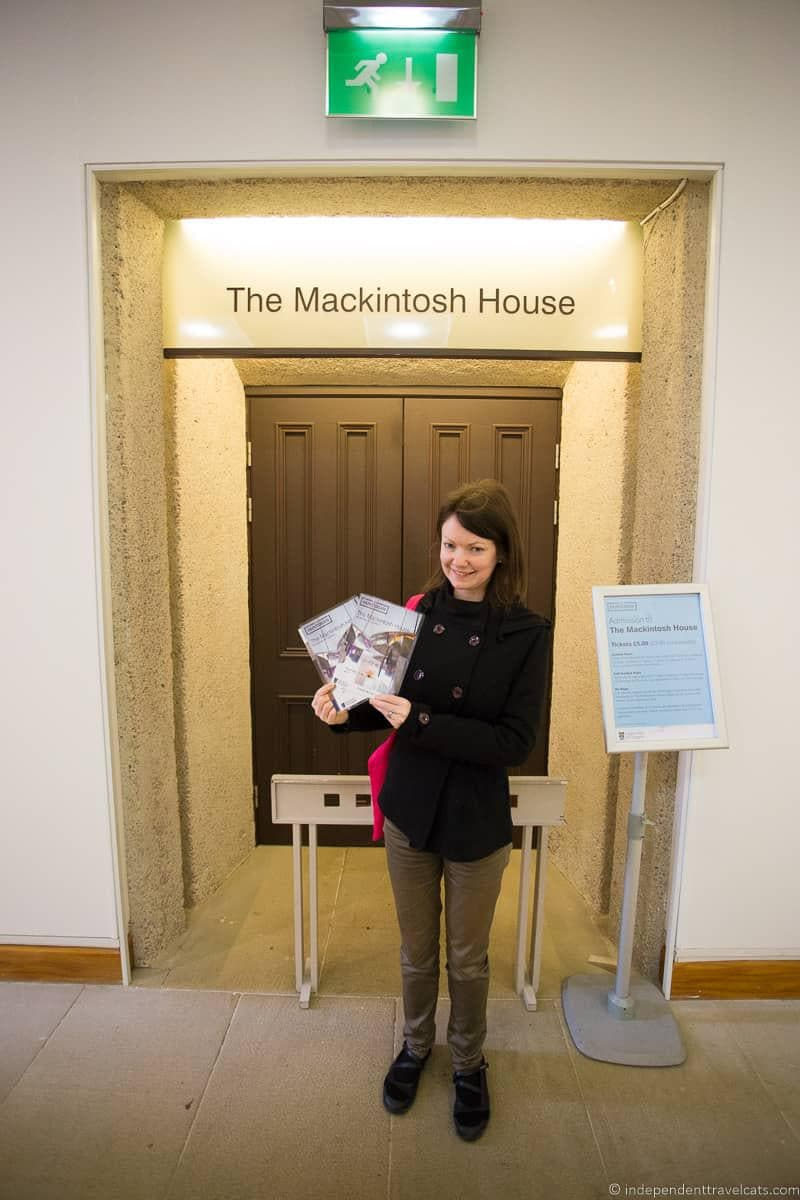 Mackintosh House top things to do in Glasgow Scotland attractions