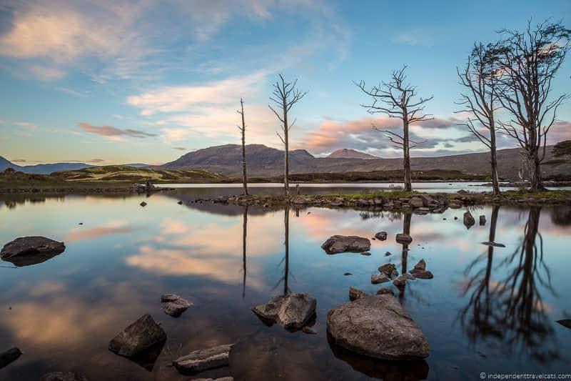 Lochinver sunrise North Coast 500