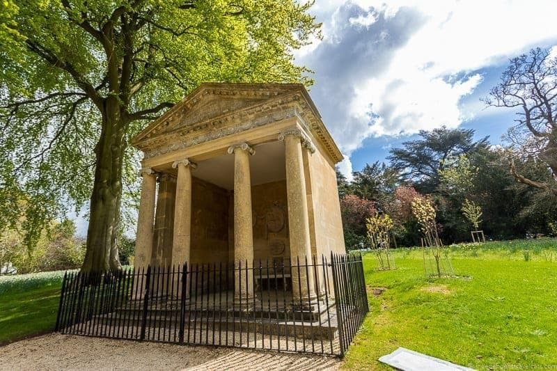 Temple of Diana where Churchill proposed to Clementine - top Winston Churchill sites in England