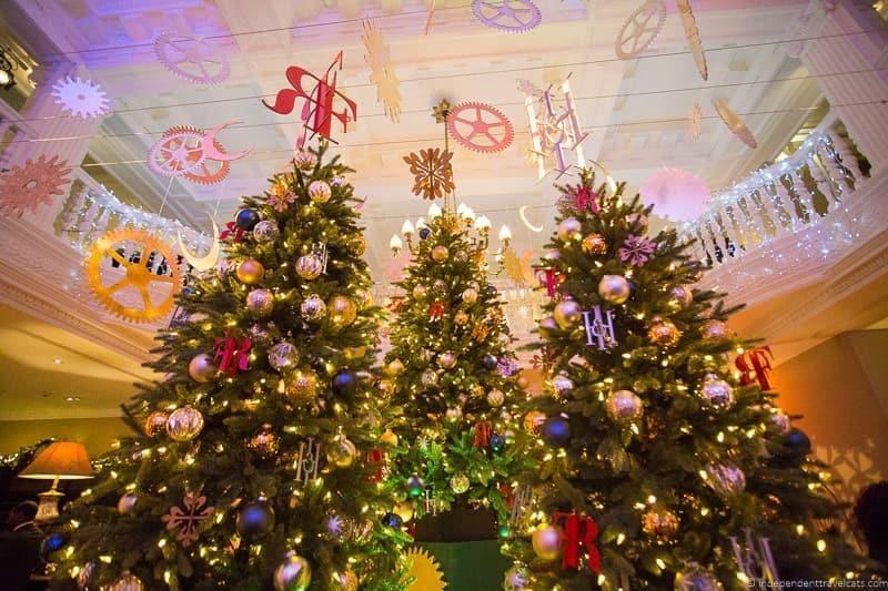 Balmoral Christmas in Edinburgh Scotland December