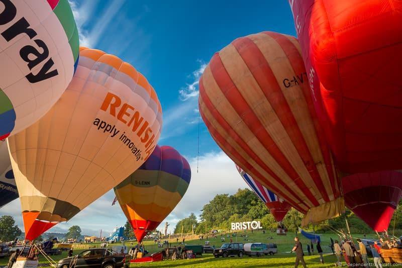 Bristol Belle Bristol Balloon Fiesta England UK