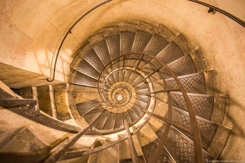 Arc de Triomphe travel stress financial concerns travel psychology