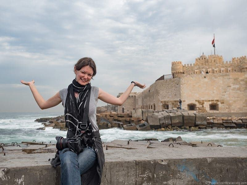 Alexandria Egypt travel stress cultural differences