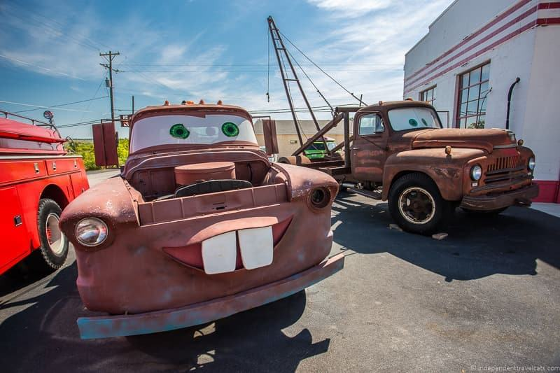 Tow Mater truck Kansas 2 week Route 66 itinerary detailed guide