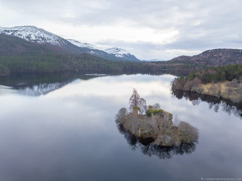 Loch an Eilein things to do in the Cairngorms National Park in winter