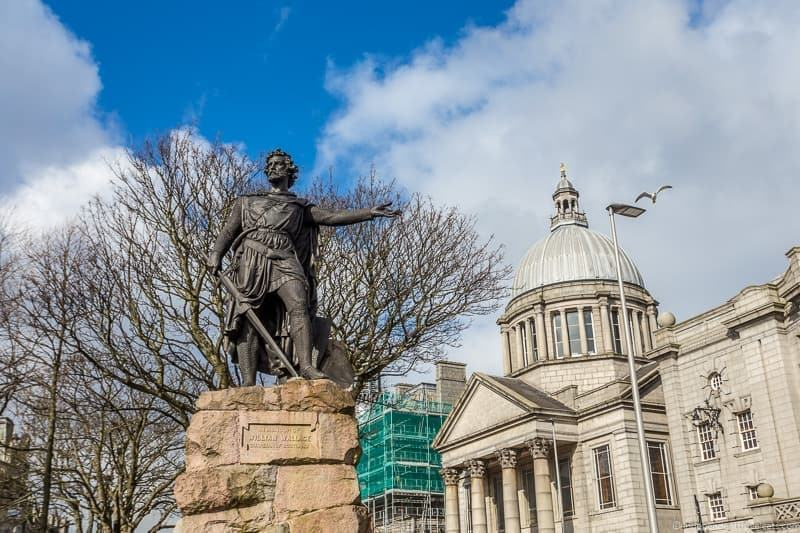 William Wallace statue things to do in Aberdeen Scotland travel guide