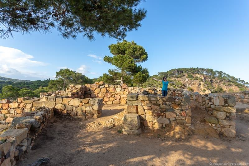 Castell Iberian settlement things to do in Palamós Spain Catalonia Costa Brava