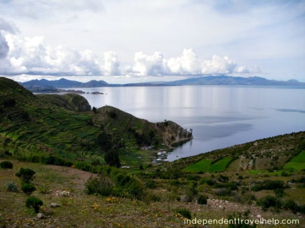 romance, romantic destination, bolivia, lake titicaca, island, lake, scenery