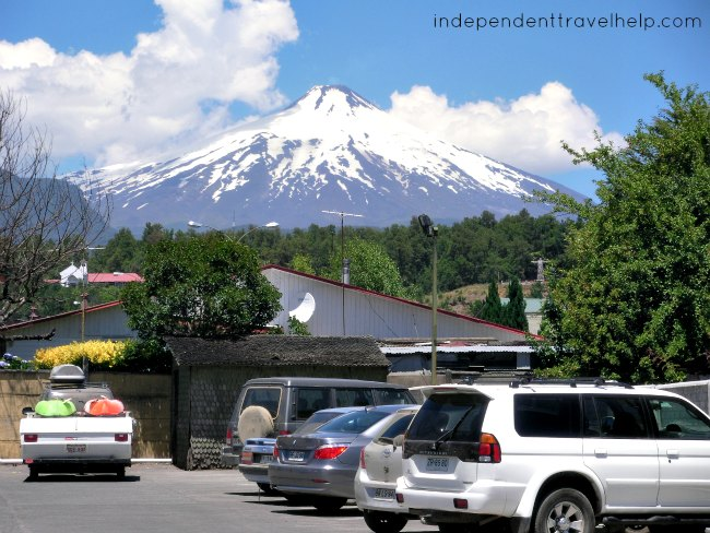 volcano, pucon, chile, south america