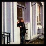 Me at the housetrip flat in Kilburn