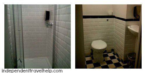 Hoax shower and toilet