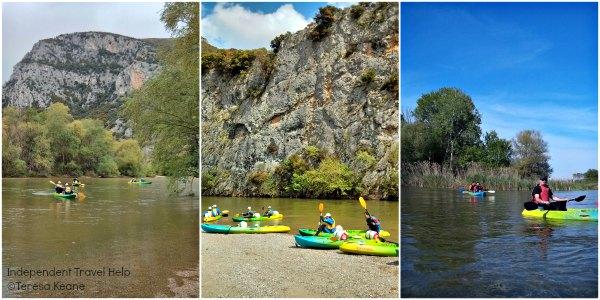 Kayaking in Nestos
