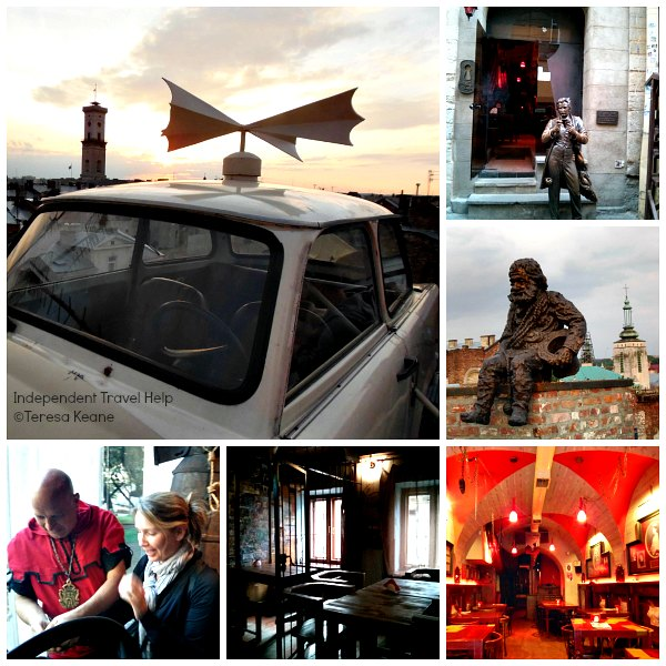 Lviv's quirky restaurants
