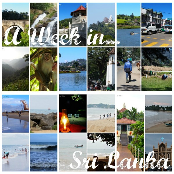 A Week in Sri Lanka pin