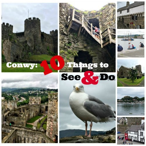 Conwy: 10 Things to See and Do