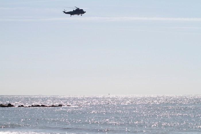 Hubschrauber Helgoland
