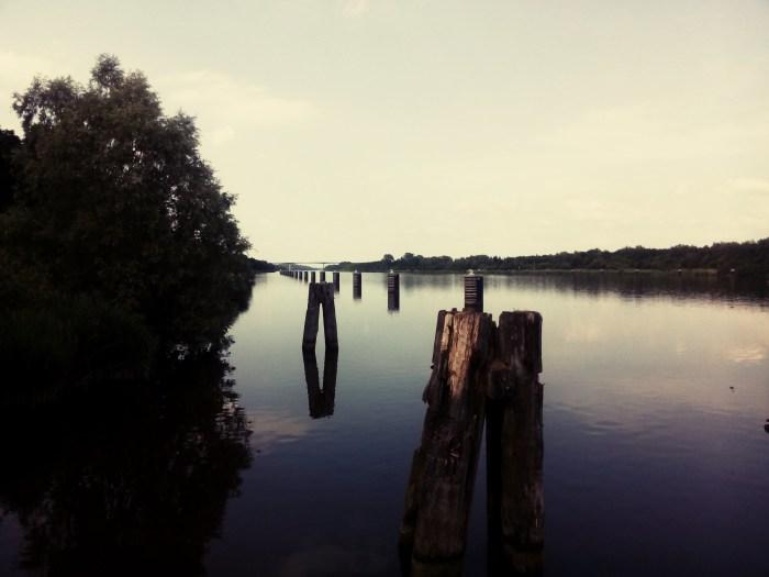 Weichen am Nord-Ostsee-Kanal