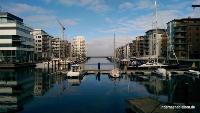 Dockan Marina: Yachthafen zwischen Wohnhäusern
