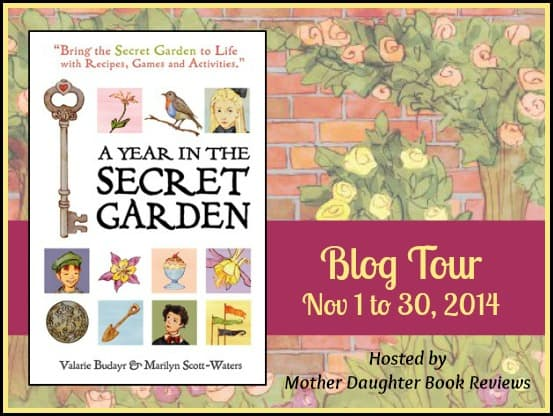 A Year in the Secret Garden - Blog Tour Button