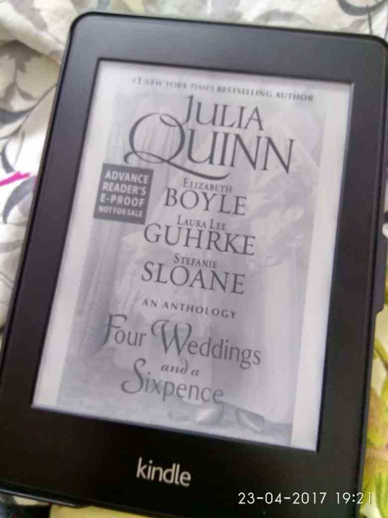 Four Weddings and a Sixpence: An Anthology by Julia Quinn, Elizabeth Boyle, Laura Lee Guhrke, and Stefanie Sloane