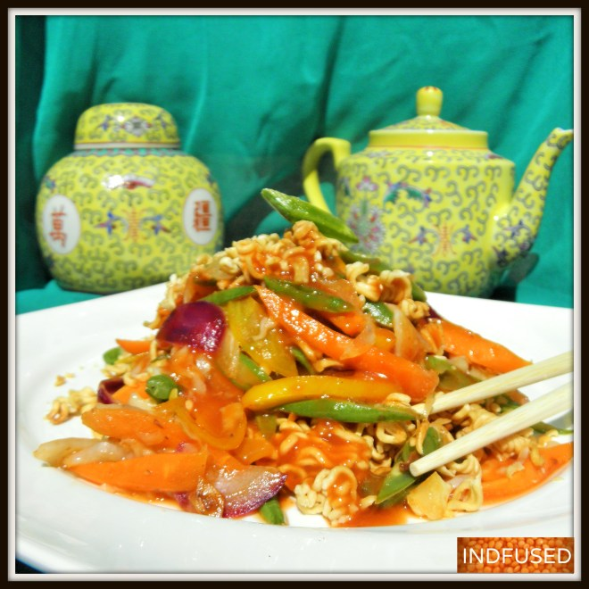 Indian Chinese - American Chop Suey