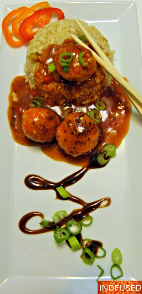 Figure friendly Gobi Manchurian- same great taste minus the deep frying! Check out this recipe.
