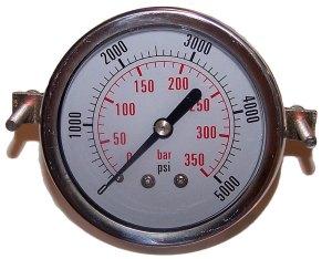 5000 PSI - Panel Clamp Gauge