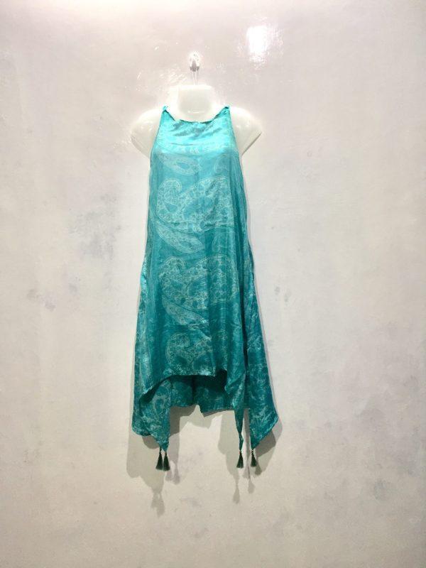 Turquoise Dress