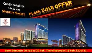 Sheraton Macao Hot Deal