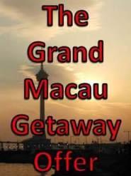 Macau Getaway Offer from Sheraton