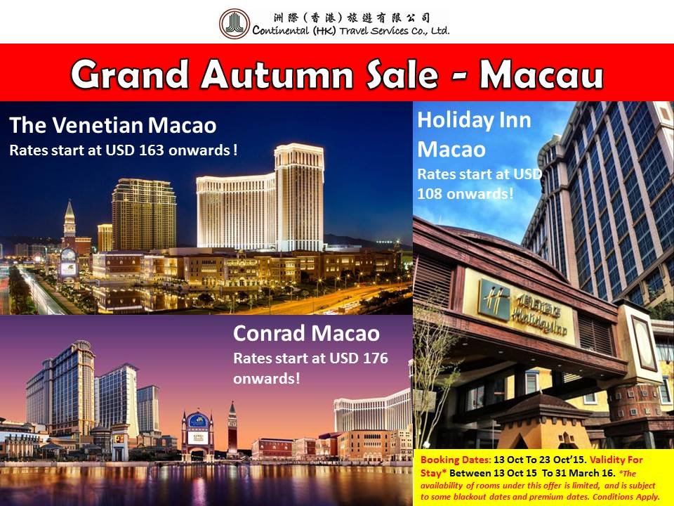 Autumn Sale Macau Header