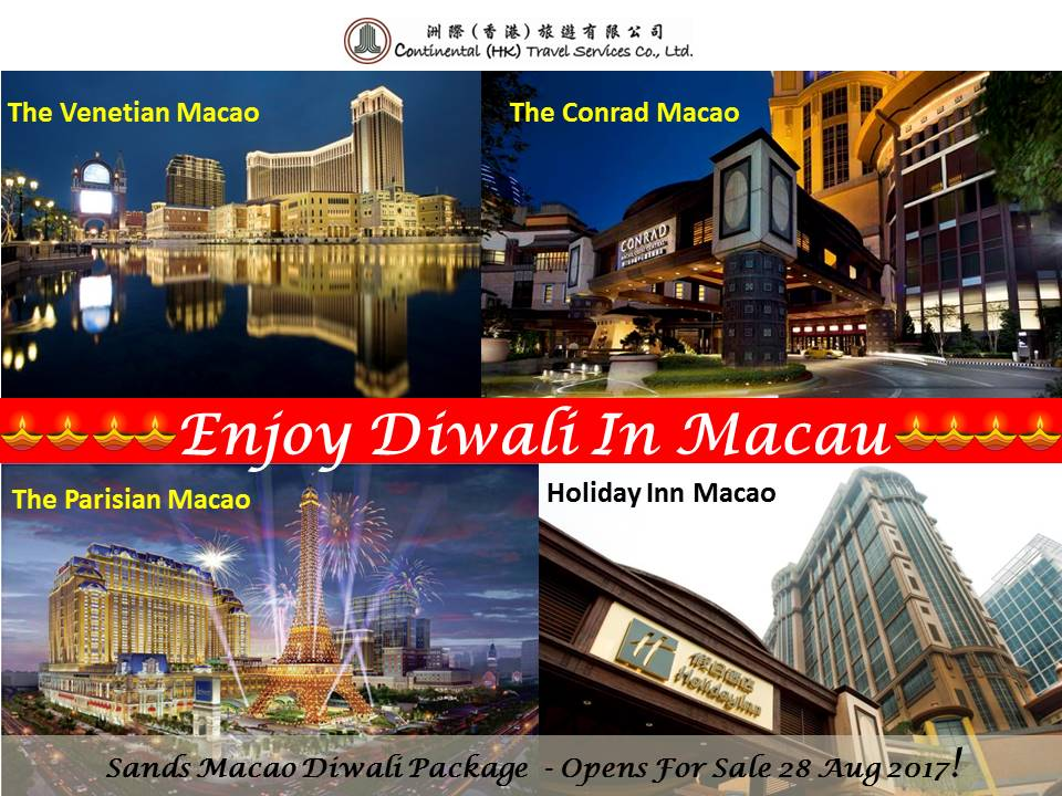 Macau Diwali Package 2017