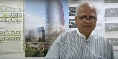 Architect Sudhir Jambhekar talks about his career to Khula Aasmaan