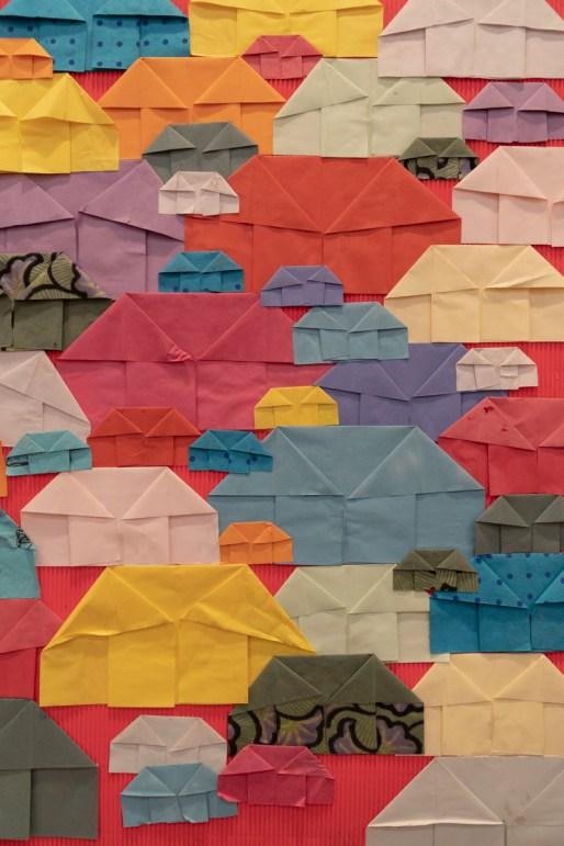 Collage by Prashant Bania, a divyang artist