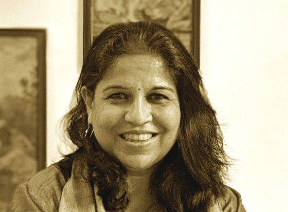 Artist Manisha Patil is a painter and art historian