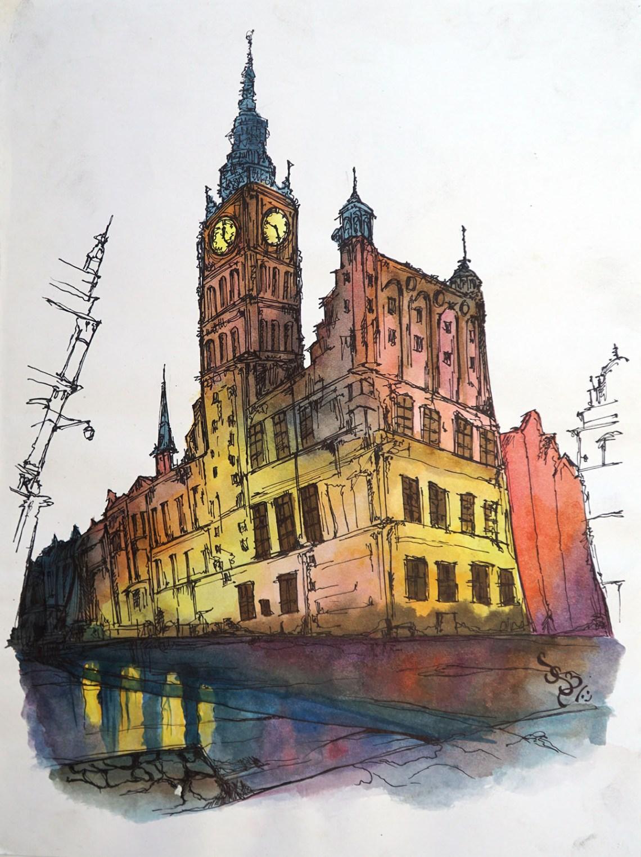 Painting by Sanya Singh