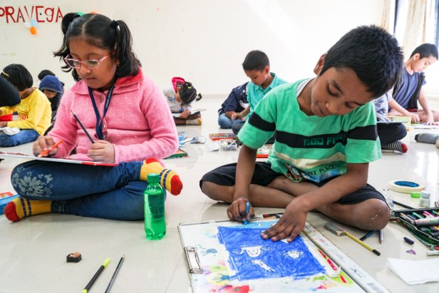 Science Day painting competition for children