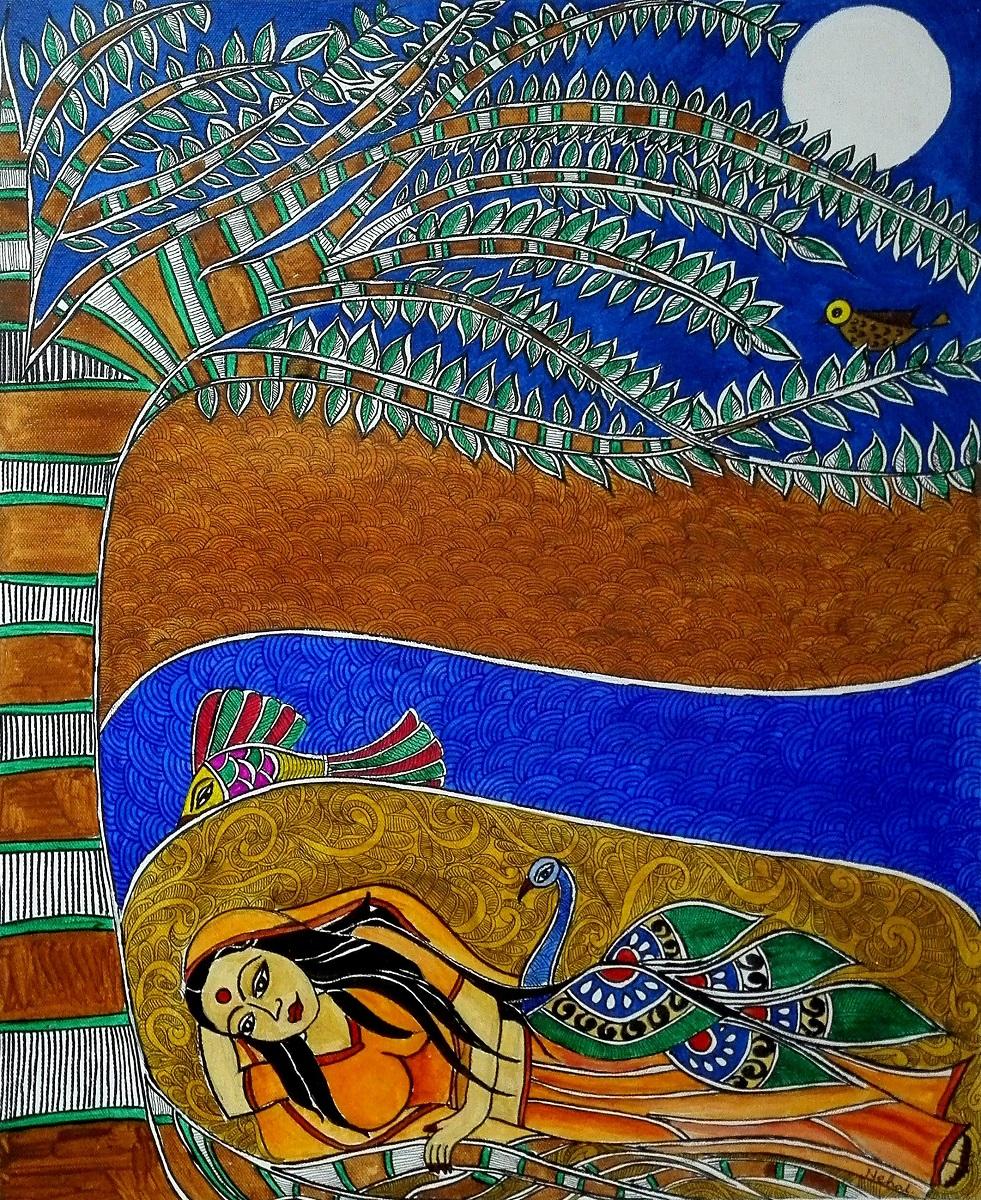 The Janaki, painting by Nehal Shah