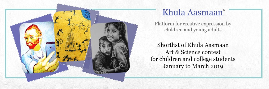 art contest for children, art contest for college students - shortlist for January to March 2019