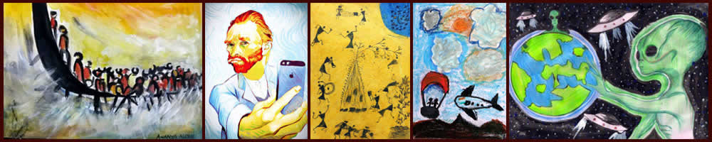 Shortlist - Khula Aasmaan art competition Jan to March 19 - graphic