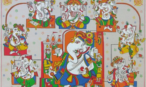 Celebrate Ganeshotsav with Ganesha paintings