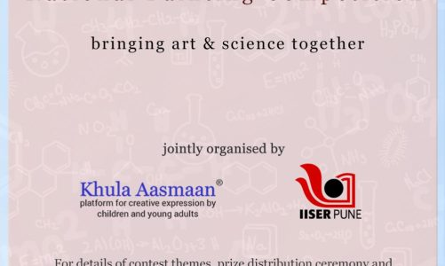 Painting contest by Khula Aasmaan and IISER Pune