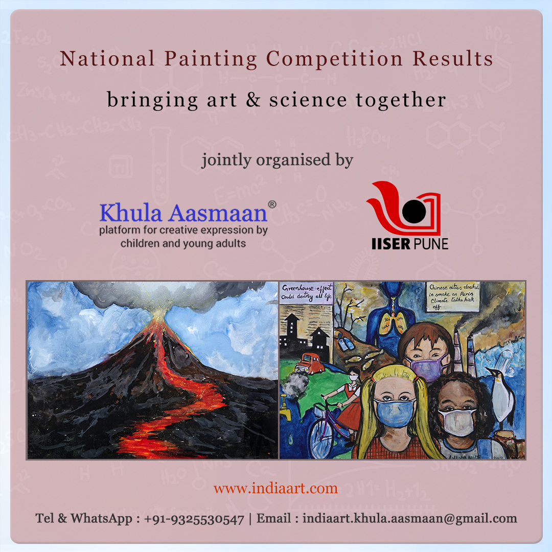 National Painting Contest to celebrate 150th anniversary of Periodic Table consisted of free online painting contest and on the spot painting competition